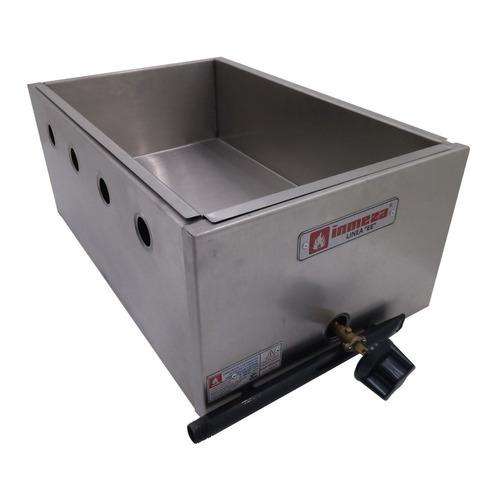 chafer 3 recipientes vaporera baño maría buffet bm1 xxban