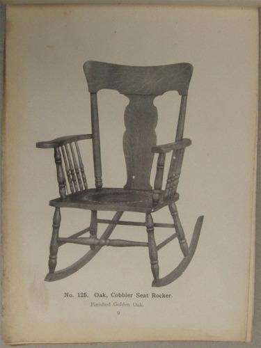 chair makers - sillas y sillones de madera - 1911
