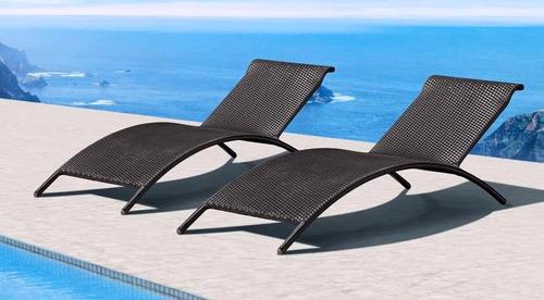 chaise longe para exterior biarritz by samma home