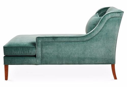 chaise longue super luxo rieti - design italiano