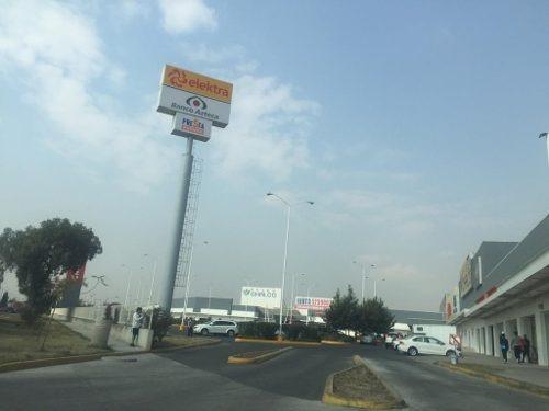 chalco zona industrial: terreno sobre libramiento nuevo con uso de suelo cu200a.