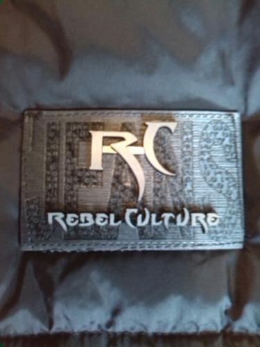 chaleco acolchado unisex 100% poliester marca rebel culture.