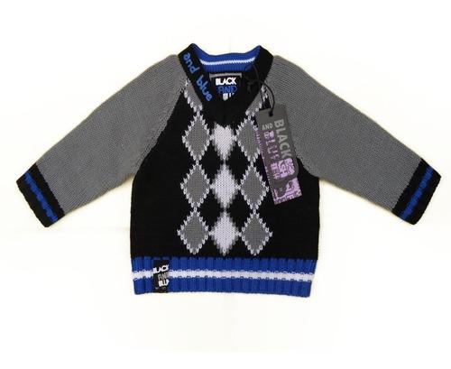 chaleco black and blue  nuevo