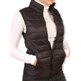 Chaleco Campera Mujer Running Tipouniqlo Plumaultraliviano A