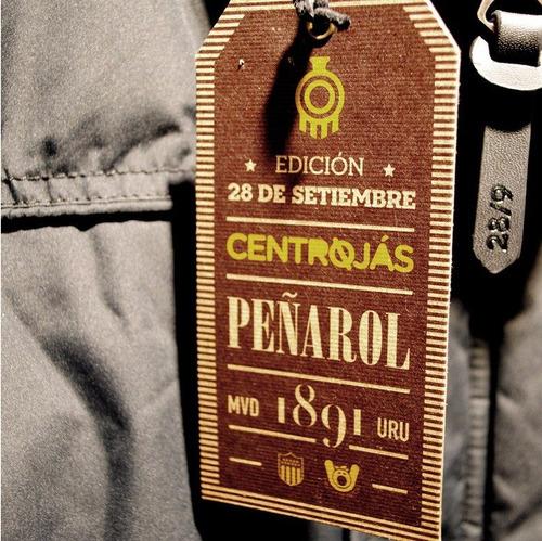 chaleco centrojás | edición 28/9 | club atlético peñarol