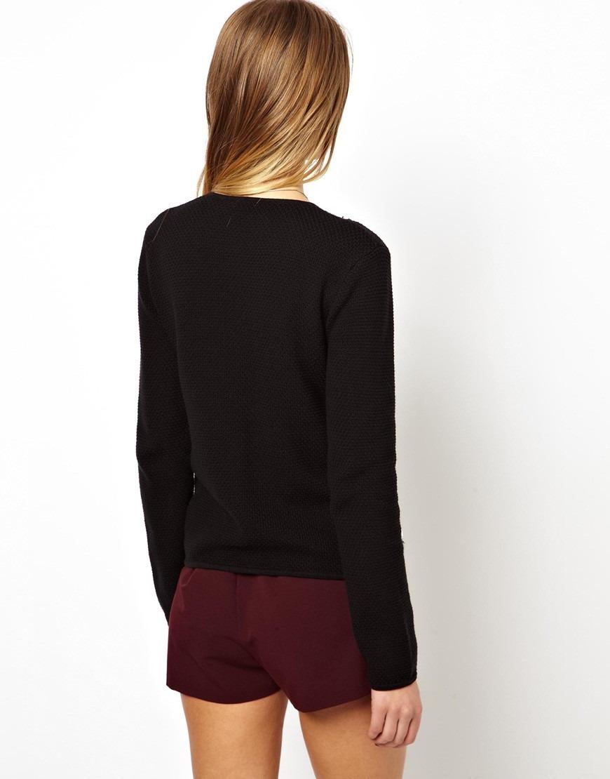 chaleco chaqueta pedreria negro nuevo t36 xs envio gratis. Cargando zoom. a36555191d4e