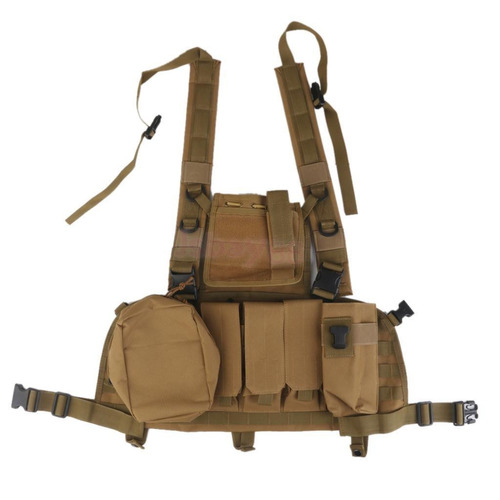 chaleco chaqueta táctico militar airsoft paintball swat moll