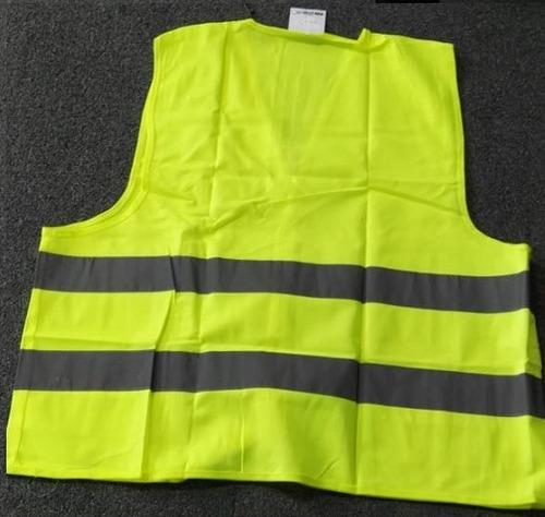 chaleco clase 2 amarillo seguridad bandas reflejantes vial