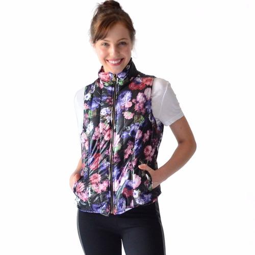 chaleco dama corto capitonado rack & pack varios diseños