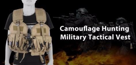 chaleco de caza del camuflaje cs caza,  táctico militar