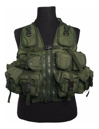 chaleco de combate militar tactico special forces multiprop