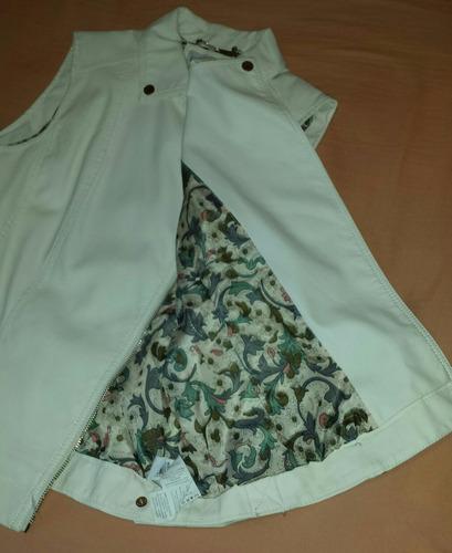 chaleco de cuero marca by lolita collection