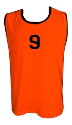 chaleco de entrenamiento numerados equipamiento mvdsport