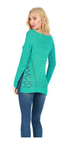 chaleco de hilo con diseño en la cintura