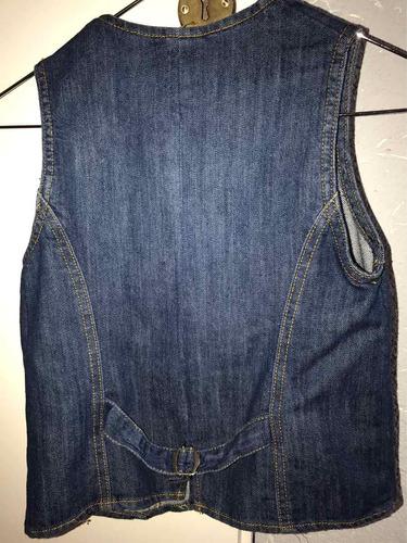chaleco de jeans cheeky t12