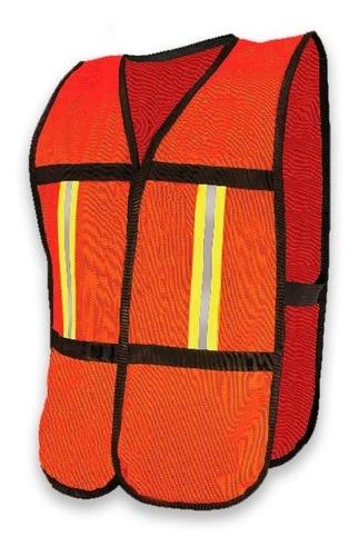 chaleco de malla con reflejante varios colores facturado