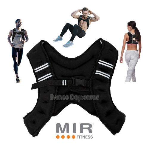 chaleco de peso 10 kg fitness crossfit carga entrenamiento