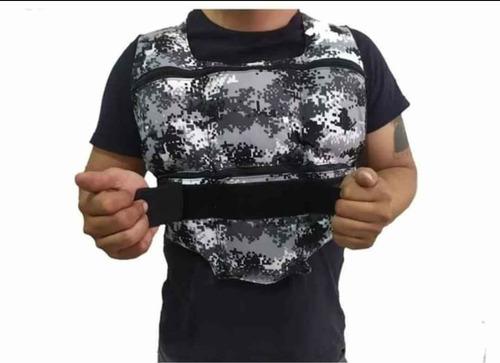 chaleco de peso crossfit, peso 24 libras, garantía de 1 año.