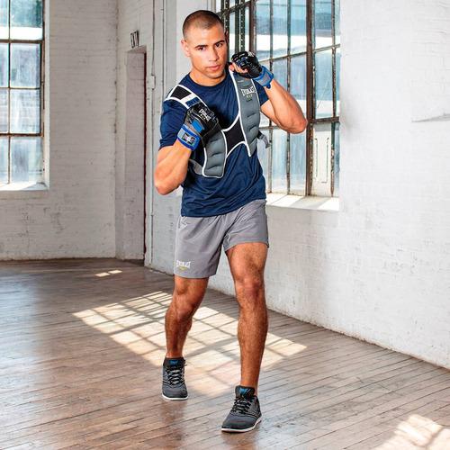 chaleco de peso para entrenamiento funcional everlast 9 kg