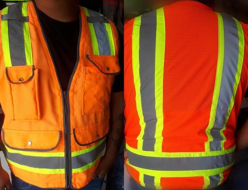 chaleco de seguridad alta visibilidad