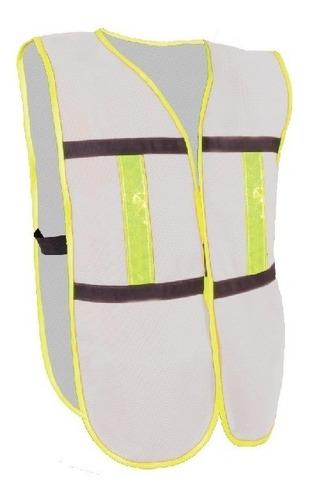 chaleco de seguridad con broche, varios colores, 12 piezas