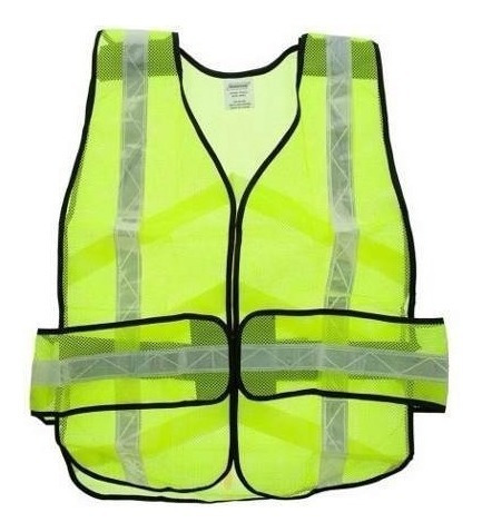 chaleco de seguridad desarmable marca ironwear amarillo 7015