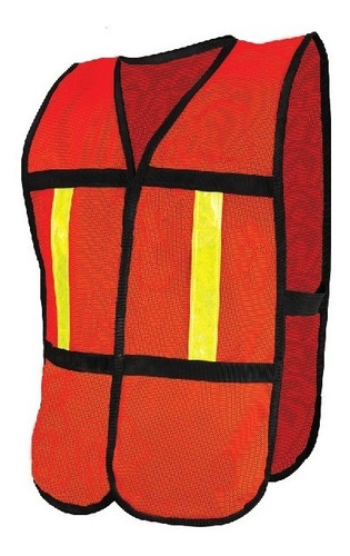 chaleco de seguridad malla con broche, varios colores