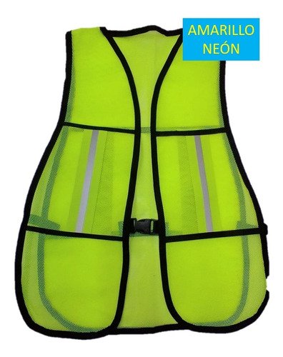 chaleco de seguridad malla con reflejante. oferta!!!