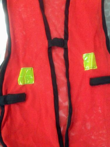 chaleco de seguridad para patrullero escolar hasta 10 años