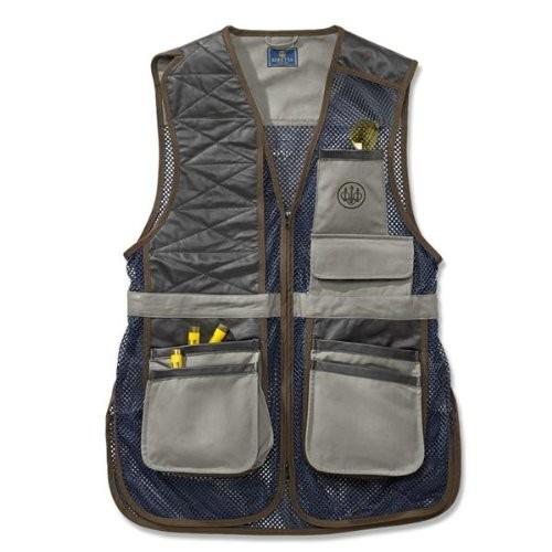 chaleco de tiro beretta men's two tone clay shooting vest