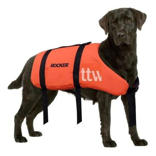 chaleco deportivo para perro rocker kayak 3 talles salvavida