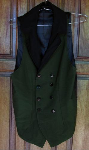 chaleco estilo victoriano cosplay alois trancy