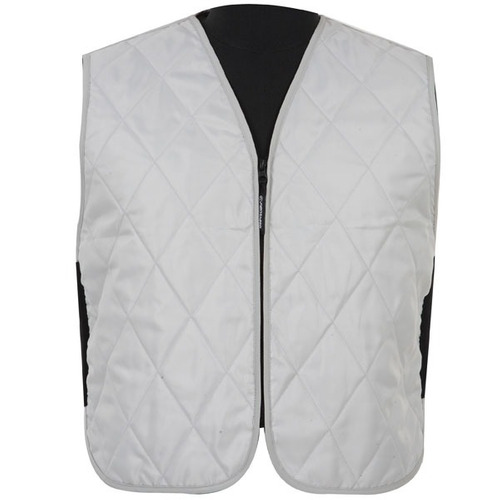chaleco fieldsheer iceberg textil plateado md