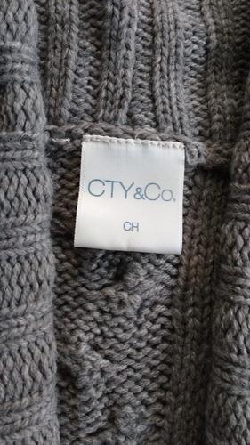 chaleco gris talla chica limpia de clóset. envío gratis