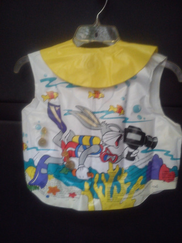 chaleco inflable unisex looney tunes 12 a 25 kgs.