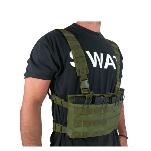 chaleco militar oslotex chest rig bas od