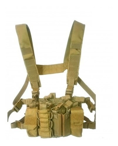 chaleco militar oslotex chest rig l3 coyote