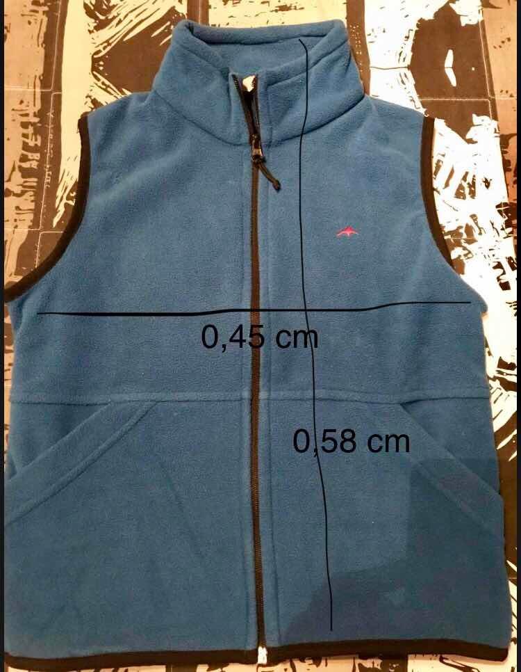 oficial mejor calificado nueva colección como serch Chaleco Montagne Polar Para Nieve. Talle 10 - $ 450,00