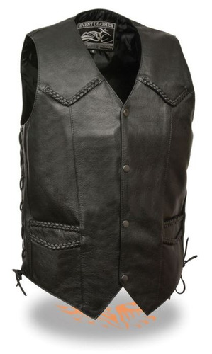 chaleco motociclista clas milwaukee leather event hombre lg