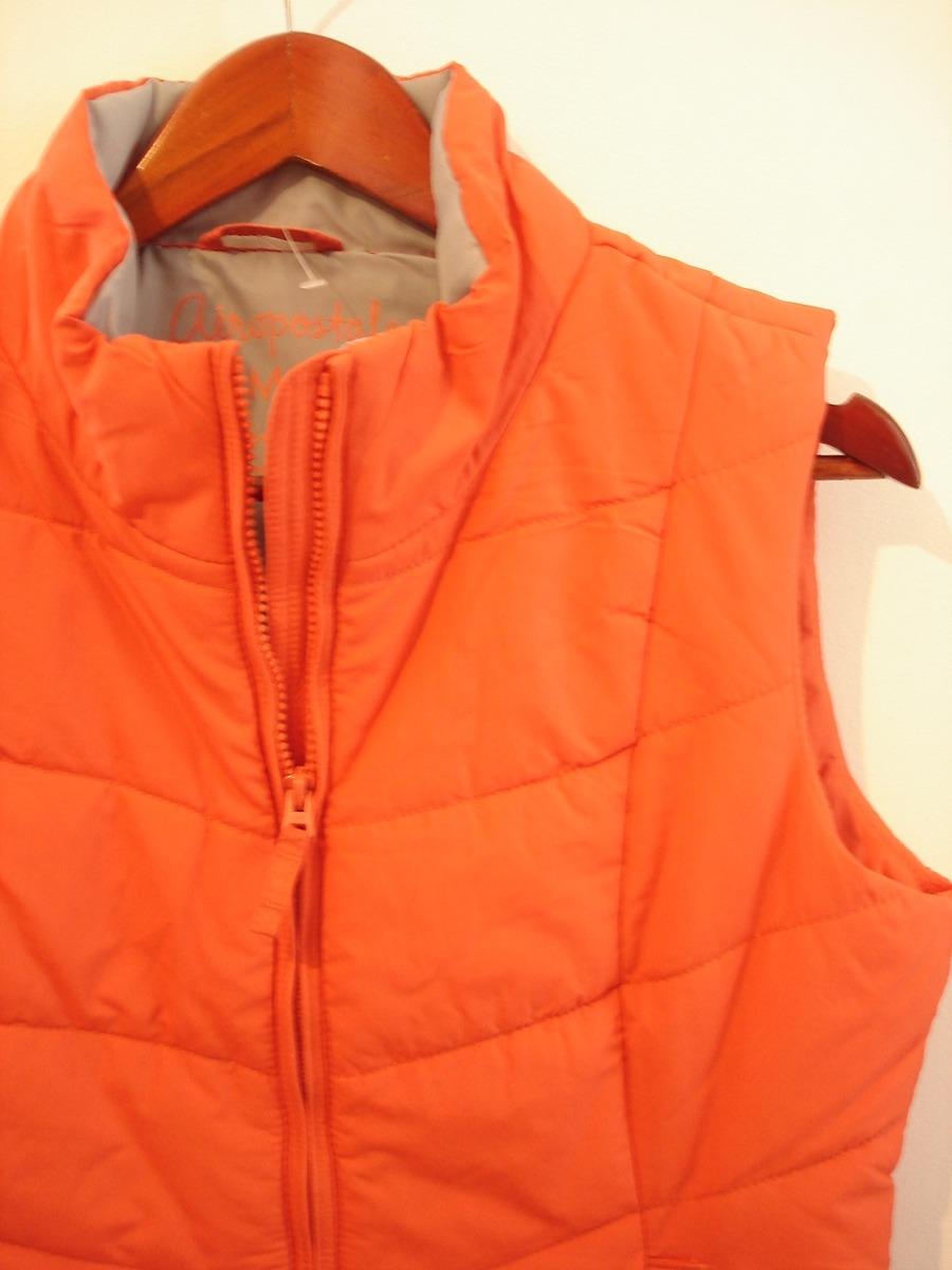 Chaleco Mujer Aeropostal Naranja Mediano++++++++++ -   580.00 en ... 9ca983a3b682