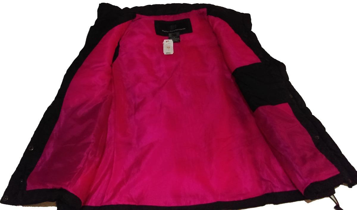 Chaleco Negro Dama Interior Rosa 634cd1ea7558
