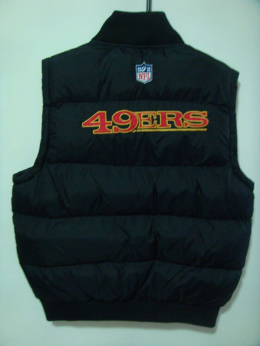 chaleco nfl team apparel 49ers san francisco importado