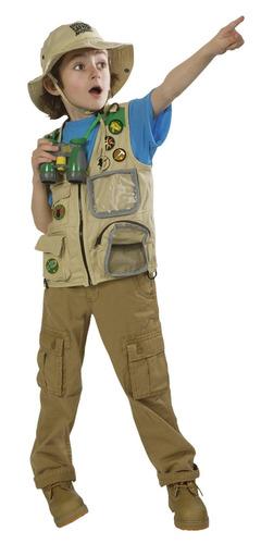 chaleco para niño/a de safari backyard oferta!!