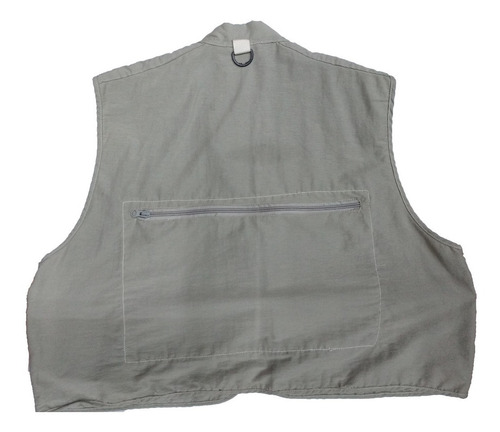 chaleco pescador  en tela de secado rapido - fabrica