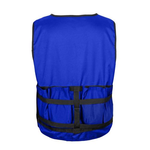 chaleco peso regulable sobre carga 10 kgs entrenamiento gym