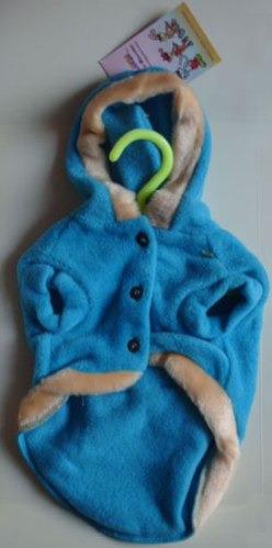 chaleco polar con capuchon para mascotas