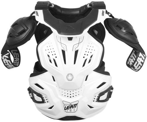 chaleco protector de cuello leatt fusion 3.0 blanco xxl
