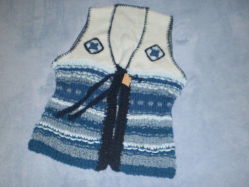 chaleco pura  lana virgen