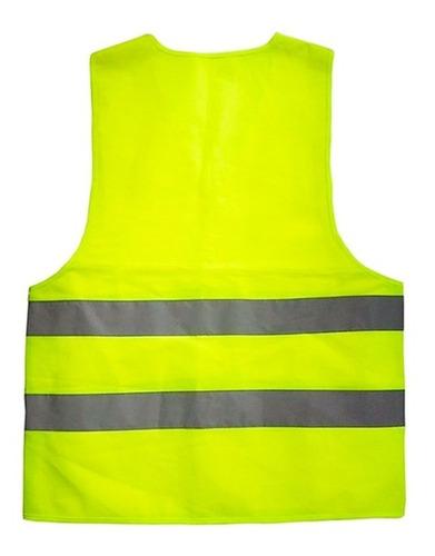 chaleco reflectante amarillo nueva ley transito / n ofertas