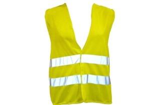 chaleco reflectivo amarillo
